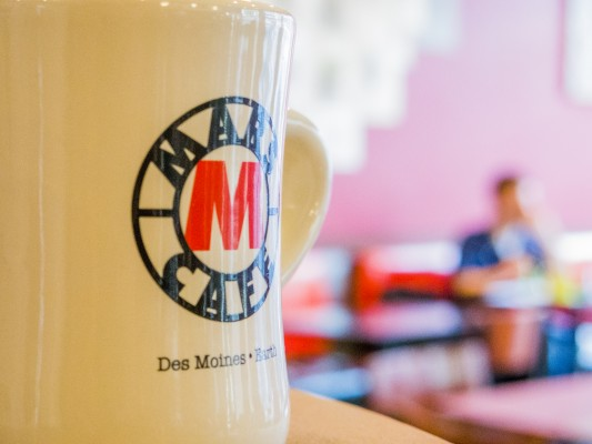 The iconic coffee shop of Drake Dogtown: Mars Café
