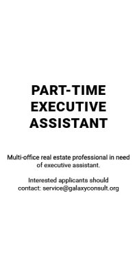 Part-time Executive Assistant